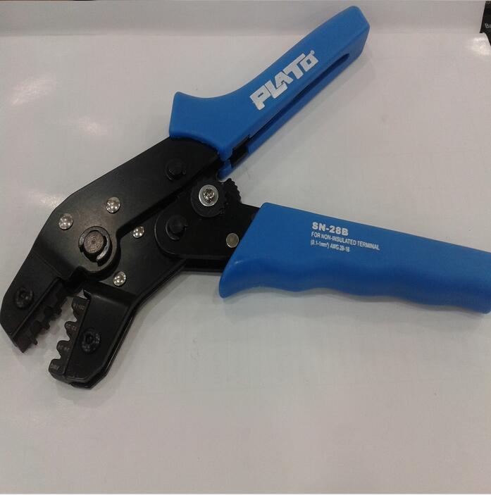 کابل SN28B SN-28B با فشار دادن سیمهای انبردست برای سیمهای بزرگ 4P / sata / 5557 4.2mm /dupont2.54/KF2510 ترمینال 28AWG-18AWG