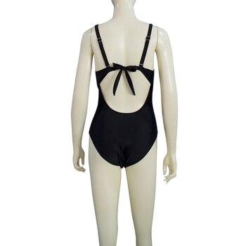 e82a6cee183361 wysokiej jakości ESSV jednoczęściowy Push Up strój kąpielowy Plus  rozmiar stroje kąpielowe 2019 kobiety