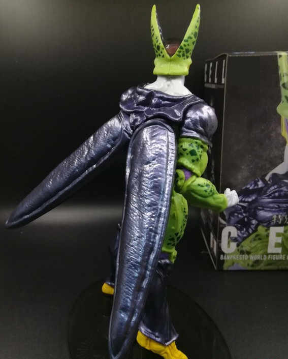Anime 22CM Dragon Ball Z Figura de Cell Coliseo celular Figura PVC Figura de juguete de modelos coleccionables regalo