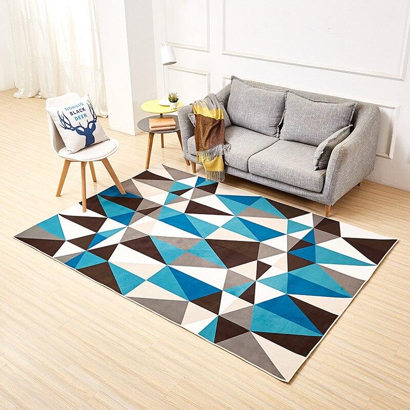 Tapis imprimés pour salon tapis maison moderne Simple frais tapis Tapete Para Sala tapis Alfombras Vloerkleed Teppich