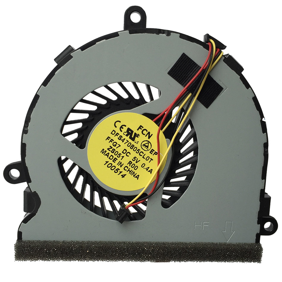 New CPU Cooling Fan For DELL Inspiron 15R 3521 3721 5521 5721 M53IR 5535 5537 Series CPU Cooling Fan new laptop lcd cable for dell inspiron 3521 3537 3737 5521 5537 5737 15r series 15 6 pn dc02001si00 dc02001n400 dc02001mg00