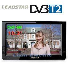 HD Портативные телевизоры 10 дюймов цифровые и аналоговые LED телевизоров Поддержка tf карты usb аудио автомобиля телевидении HDMI Вход dvb-t DVB-T2 AC3