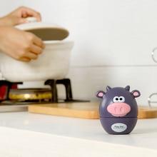New Fashion Cartoon Animal Cooking Timer Plastic Machine Timer 60min Alarm Clock Kitchen Timer Stopwatch Kitchen Tools