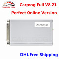 New Carprog Full V8.21 Firmware Perfect Online Version Car Prog 8.21 Auto Repair Tool Including Much More Authorization DHL Free