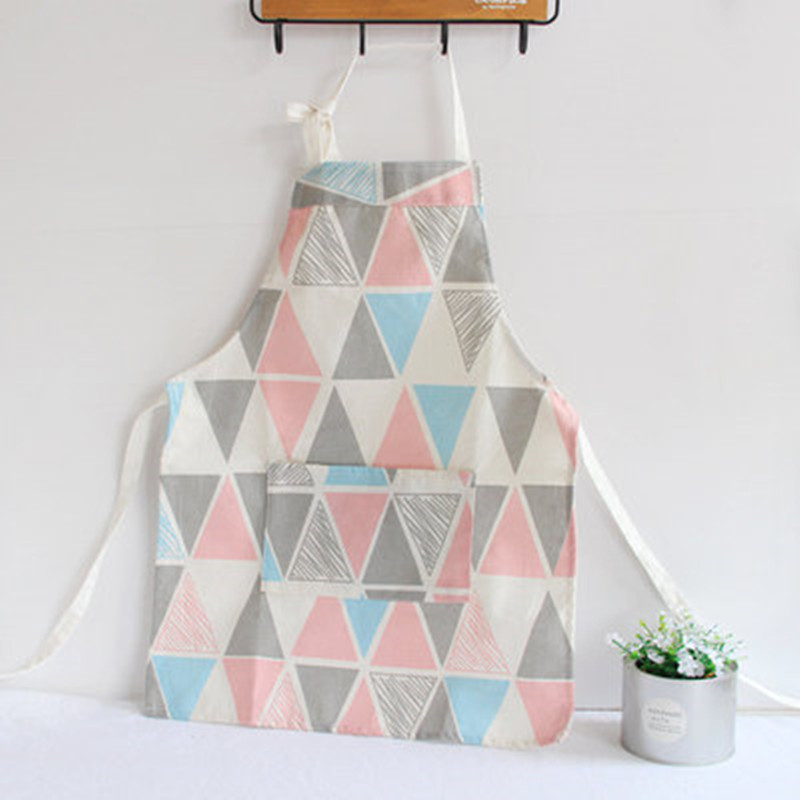 Aprons Mother /& Daughter Gifts Kitchen Cotton Gray with Animal Prints Orange Fox for Adult /& Kid Cooking Baking Painting Gardening
