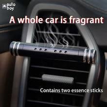Difusor de Perfume de ventilación de coche ambientador de coche desodorante accesorios de coche para niñas de plástico + decoración de barra de Perfume sólido de aleación