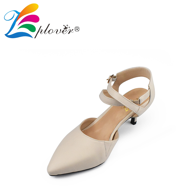 Zplover Women High Heel Pumps Buckle Strap Sexy Pointed Toe Shoes Ladies Pumps Ankle Thin Heels Party Shoes Woman plus size leather shoes women high heel sexy ankle strap wedding shoes woman pumps 9cm pointed toe party ladies shoes