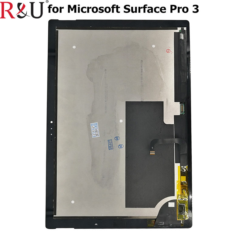 все цены на R&U Touch Screen Digitizer +LCD Display Assembly Replacement For Microsoft Surface Pro 3 (1631) TOM12H20 V1.1 LTL120QL01 003 онлайн