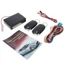 Universal Car Remote Control Central Kit Door Locking Keyless Entry System Alarm