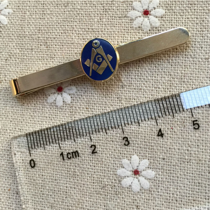 10 шт. площади и компас масонские Зажимы для галстука голубой эмалью масоном галстук бар металл ремесло подарки для Бесплатная кладки stickpin з...