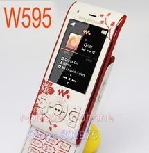 Remodelado original sony ericsson w595 flor telefone móvel desbloqueado w595 celular