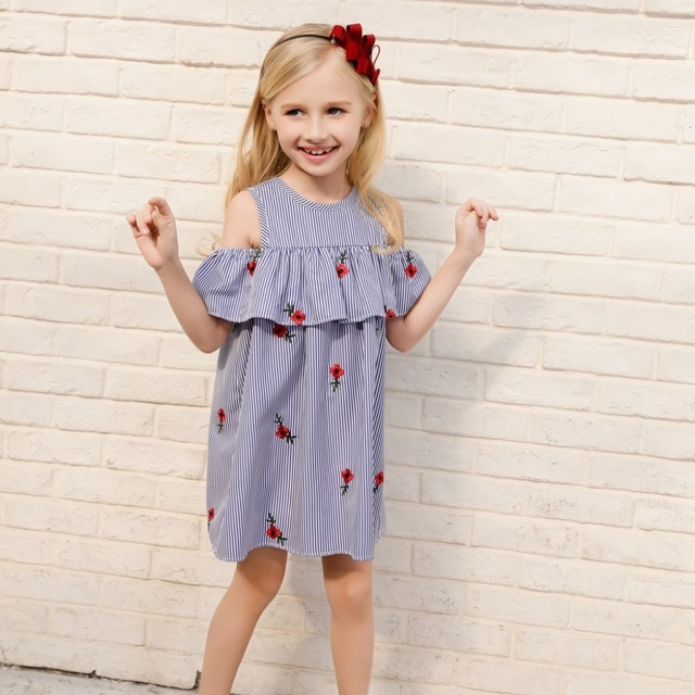 802d9ccd184a Candydoll 2018 New summer Girls Dresses Fashion Princess Clohting ...