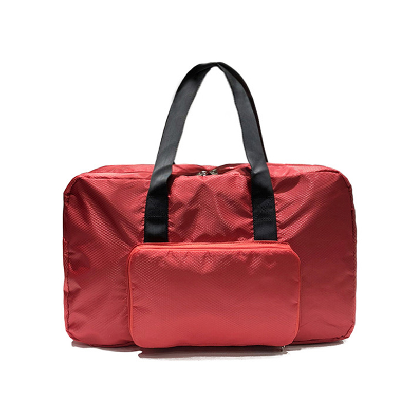 Nylon Waterproof Folding Women Travel Bags Portable Weekend Activities Travel Duffle Bags T581