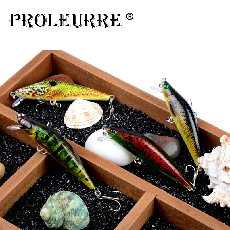 Proleurre 1pcs Floating Minnow Fishing Lures 8cm 8.2g Жасанды бәліш Hard Crank Bait Fishing Wobbler Crankbaits Swimbait