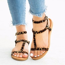 AARDIMI 2019 Women Flat Sandals Fashion Buckle Sandalias Mujer Narrow Band Gladiator Sandals Summer Shoes Woman Plus Size 35-43 недорго, оригинальная цена