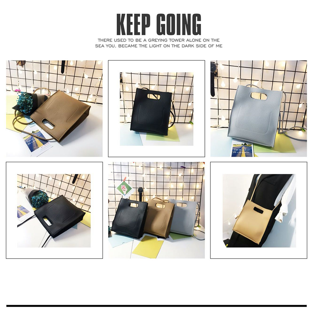 Handbags Women Bag Vintage Shoulder Messenger Mini Bag Female Solid Soft PU for Shopping High Quality Crossbody Bags in Top Handle Bags from Luggage Bags