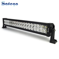 Safego 22 inch LED bar offroad 120W led light bar off road 4X4 fog Led work lights bar car trucks tractor ATV Spot Flood Combo