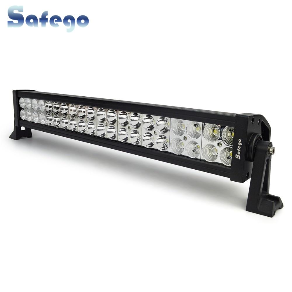 Safego 22 düymlük LED çubuğu 120W yol kənarındakı işıqlı - Avtomobil işıqları - Fotoqrafiya 1