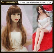 Top quality 163cm japanese face real sex doll,life size silicone sex doll for man,realistic cyberskin solid tpe sex doll,ST159