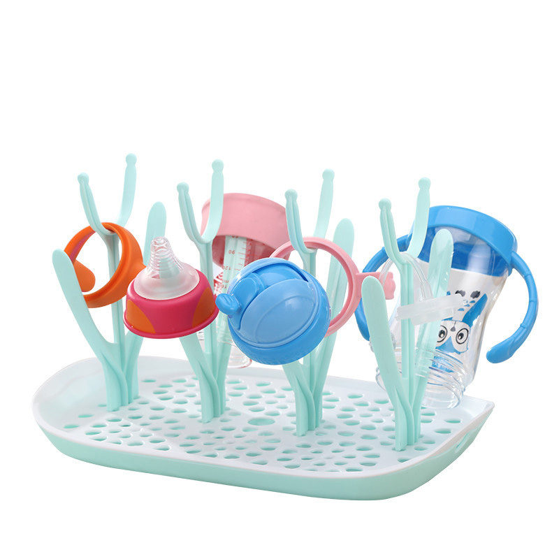 Baby Bottle Drying Rack Plastic Dryer For Bottles Escorredor De Mamadeira Babies Bottles Dryer Drainer Storage Dryer Milk Rack