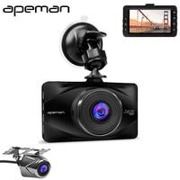 Apeman C570 3 Inch LCD 1080P Dash Cam DVR Camcorder Novatek NTK96650 Full HD Pro Car Parking Video Recorder Camera
