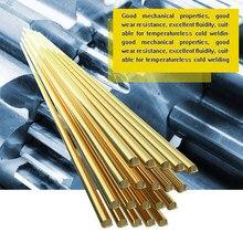 Tige de soudure en laiton, 10 pièces 20 pièces, 50pcs, 1.6mm x 333mm, tige de soudure avec électrode, pas besoin de poudre de soudure