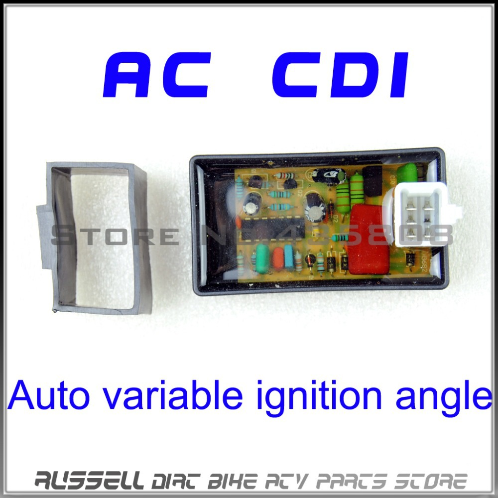 5PIN AC CDI Box Auto Variable Ignition Angle For Scooter Monkey Dirt BIke Go-Kart ATV DIO 50 Spree XR TGB Laser R5 R9 TGB