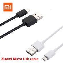 Xiaomi micro cabo usb original, sincronização de dados para carregador redmi 6 5 s2 6a 5a 4a 4x a2 lite note cabo do carregador 6 pro plus