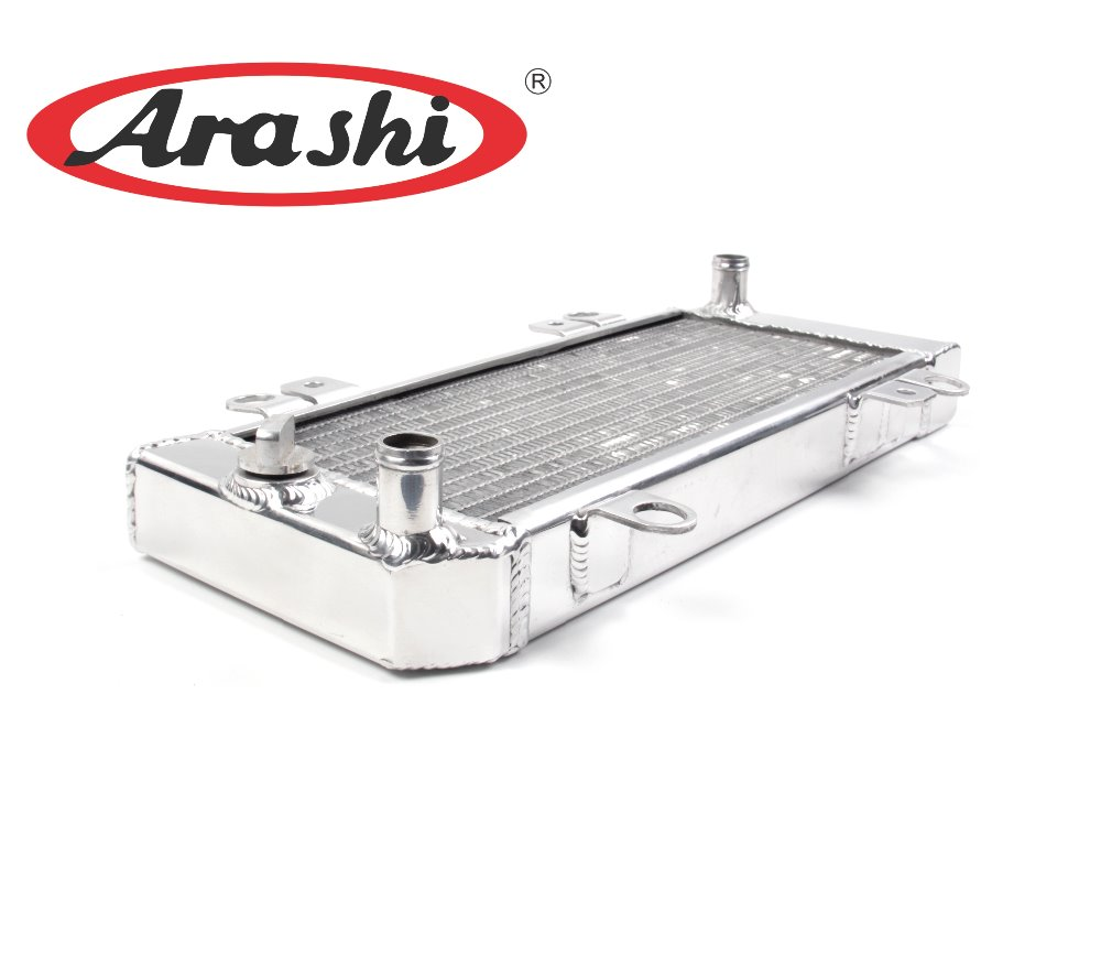 Arashi Motorcycle Cooler Radiator For KAWASAKI NINJA 250 NINJA 300 2008 2009 2010 2011 Engine Cooler Modificatio