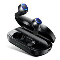 ANOMOIBUDS IP010 PLUS Wireless Charging Case TWS Bluetooth Earphone Bluetooth 5.0 Deep Bass Sports Wireless Binaural earphone