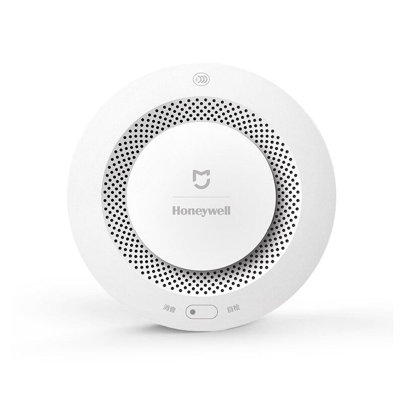 Original Xiaomi Mijia Honeywell Feuer Alarm Detector Akustischer optischer Rauch Sensor Fernbedienung Mi Hause Smart APP Steuer
