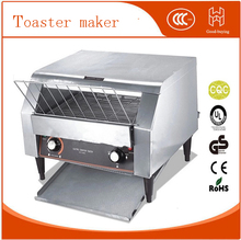 Freeshipping commercial electric conveyor bread bun pizza toaster maker toaster machine