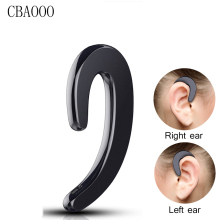 unilateral Wireless Bluetooth Earphone Ear-hook Headset Not earbuds Headphones HD call Wireless Earphone for Phone with Mic