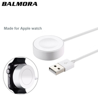 BALMORA For IWatch 2 3 Magnetic Wireless Charger Pad For Apple Watch Automatic Adsorption USB Cable