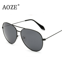 Men and Women Driving Brand Designer Sunglasses Metal Frame Polarized Glasses SunglassesUV400Gafas De Sol