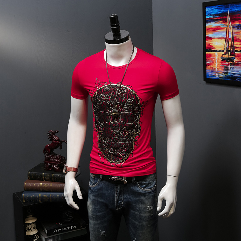 Mexican Damen T-Shirt Tattoo Skull Rose Rockabilly Gothic V8 Muertos