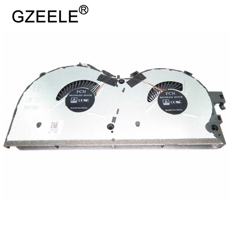 GZEELE NEW Laptop Cooling Fan For LENOVO Legion Y520 Y520-15IKB R520 R720 R720-15IKBN DFS551205WQ0T FJ9D DC28000D6F1