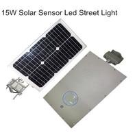 15W Solar Powered LED Motion Sensor Light Outdoor Street Lamp 1800 Lumens IP65 waterproof For Home Garden Outdoor