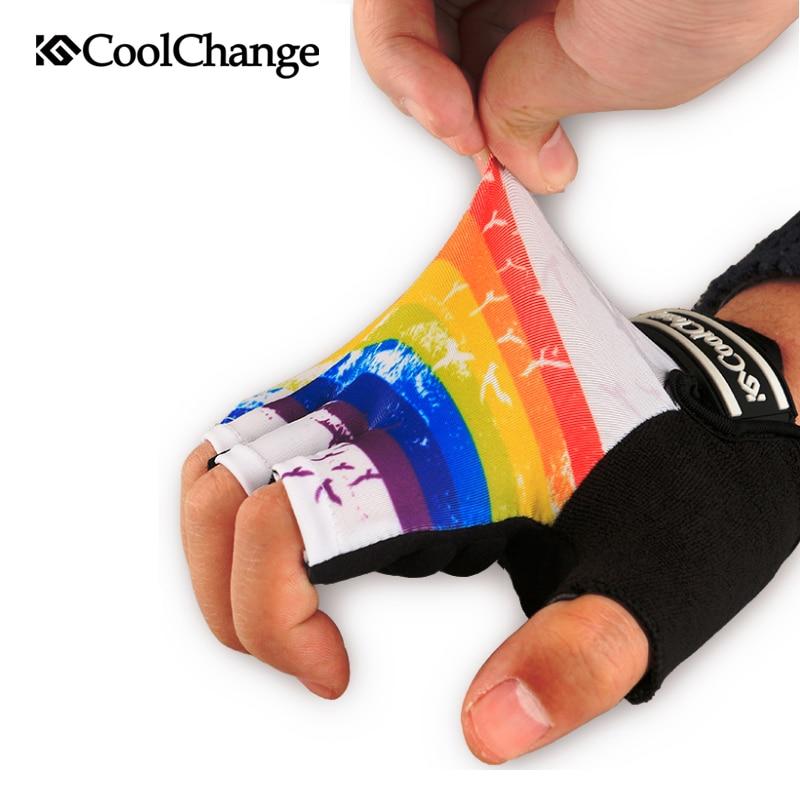 CoolChange Biciklističke rukavice Pola prsta Muške ženske ljetne - Biciklizam - Foto 4