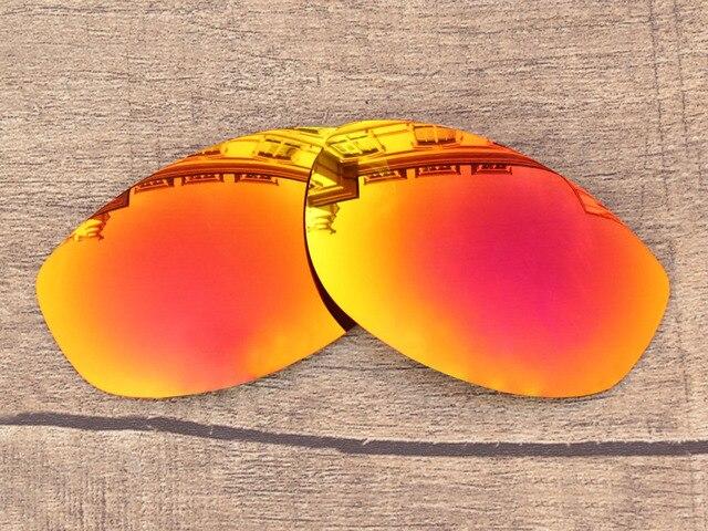 Fire Red Espelho Polarized Lentes de Reposição Para Óculos de Sol Óculos de  Corda Bamba Quadro 0dc8e76047