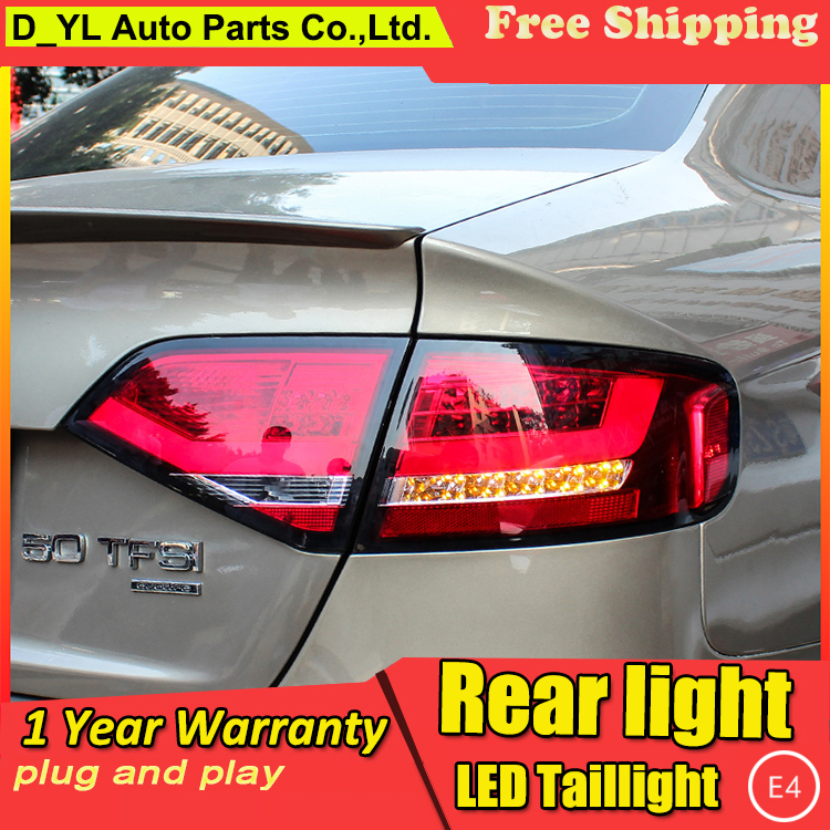 Car Styling Tail Lamp for A4 Tail Lights 2009 2012 For A4 LED Rear Light Tail