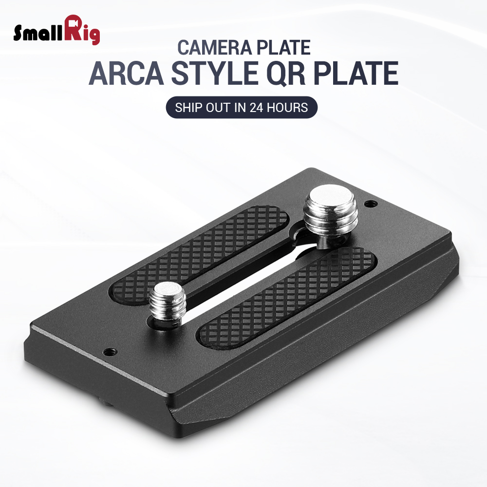 SmallRig Quick Release Plate ( Arca-type Compatible) DSLR Camera Plate 2146SmallRig Quick Release Plate ( Arca-type Compatible) DSLR Camera Plate 2146