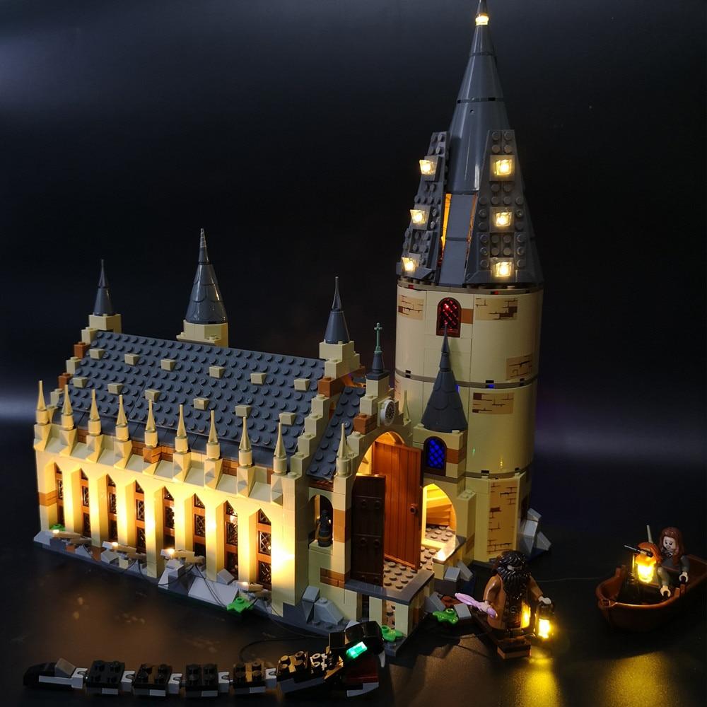 Led light kit 75954 - Harry Potter Hogwarts Great Wall 16052