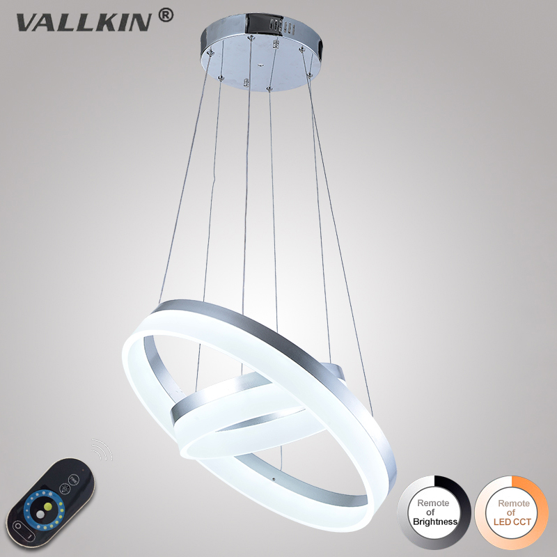 LED Pendant Light For Dining Room Modern Lamp Fixtures with Milky Lampshade Dimmable Ac100 to 240V VALLKIN LIGHTING 10 50 meters pack 1m per piece led aluminum profile slim 1m with milky diffuse or clear cover for led strips
