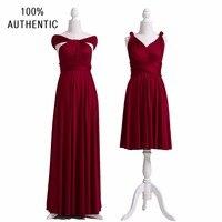 Wine Bridesmaid Dress Convertible Maxi Club Burgundy Dress Long Dress Party Bridesmaids Infinity Robe Longue Femme