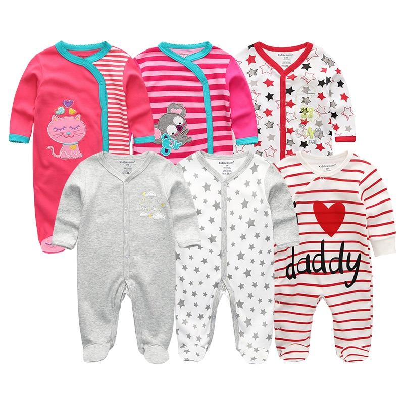 Pasgeboren baby meisje / jongens rompertjes kleding zomer jumpsuits - Babykleding - Foto 2