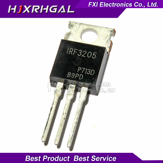 10PCS IRF3205PBF IRF3205 TO-220 TO220 HEXFET MOSFET New original
