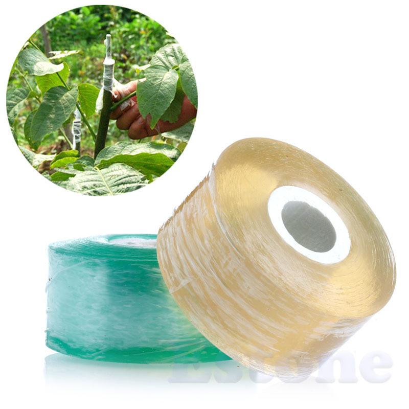 25MM X 100M Nursery Stretchable Grafting Tape Moisture Barrier Floristry Film #20/25W