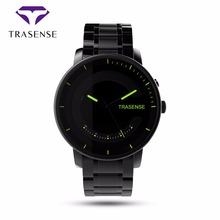 Trasense TS-H03 Smart Quartz Watch Call Reminder Step Sapphire Glass Stainless Steel Business Bluetooth Watches For Android ios