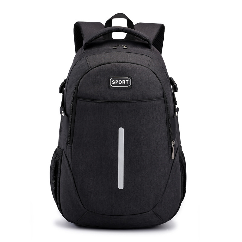Both Shoulders Package 2019 Motion Reflect Light Man Oxford Cloth Outdoors Travel Record theft backpack